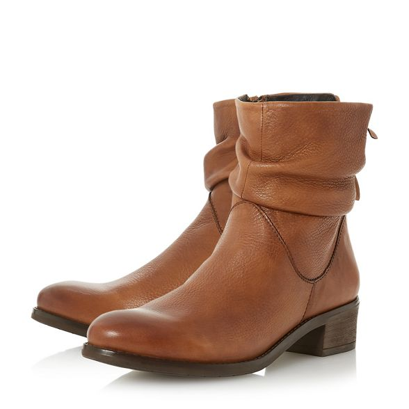 'Pagerss' Dune leather boots Brown ankle qq8E6H