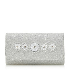 Head Over Heels by Dune - Bianna' flower detail clutch bag