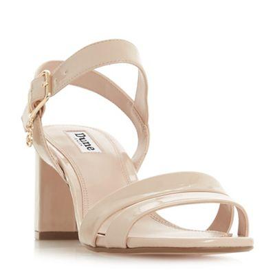Dune Dune Dune - Light pink 'Meggan' ankle strap sandals 12d762