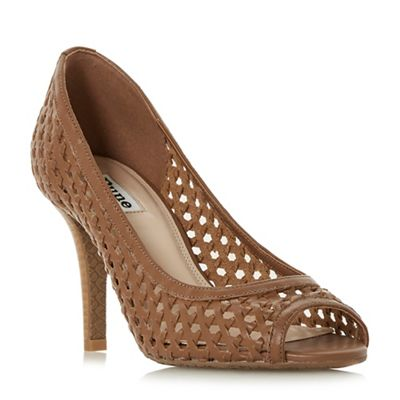 Dune - Tan leather 'Carding' shoes