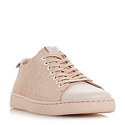 Bertie - Pink 'Tristian ii' perforated upper lace-up trainers