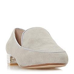 Dune - Grey suede 'Gigi' loafers