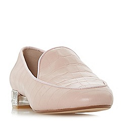 Dune - Light pink 'Gigi' loafers