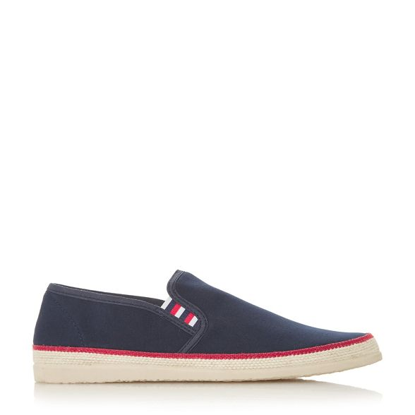 on canvas espadrilles shoes Navy Dune slip 'Figo' waHp1WqR