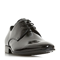 Dune - Black 'Podolski' Gibson lace up shoes