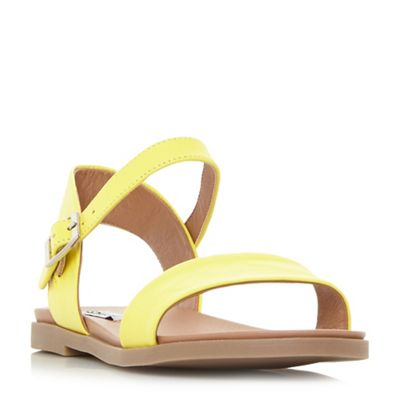 Steve Madden - Yellow 'Dina ' ankle strap sandals