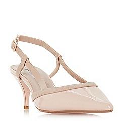 Dune - Pink 'Corra' mid stiletto heel slingbacks