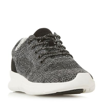 Dune - Black 'Euphoric' lace up trainers