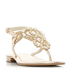 Dune - Rose 'Neverland' t-bar sandals