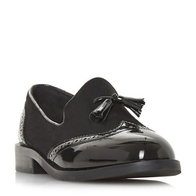 Head Over Heels by Dune - Black 'Glad' loafers