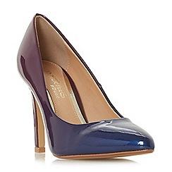 Head Over Heels by Dune - Purple 'Alexxa' high stiletto heel court shoes