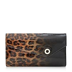 Head Over Heels by Dune - Blaira' leopard print patent clutch