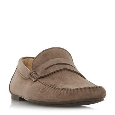 Bertie - Brown 'Peeves' penny loafers