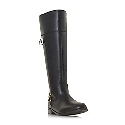 Head Over Heels by Dune - Black 'Tonya' riding boots