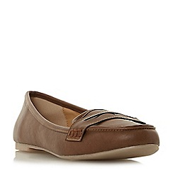 Head Over Heels by Dune - Tan 'Gabbey' loafers