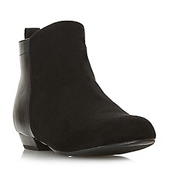 Head Over Heels by Dune - Black 'Perey' ankle boots