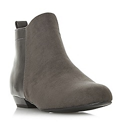 Head Over Heels by Dune - Grey 'Perey' ankle boots
