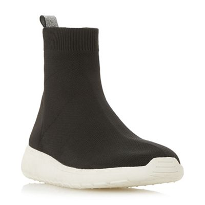 Head Over Heels by Dune - Black 'Ezra' casual trainers