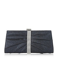 Roland Cartier - Bellvia' diamante trim sparkly clutch bag