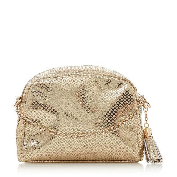 Heels Dune tassel Belini' Head charm Over bag metallic by pBtwxqg1x5