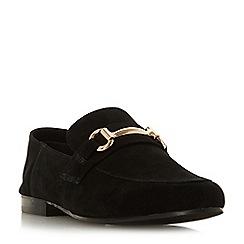Steve Madden - Black leather 'Kerin Steve Madden' loafers