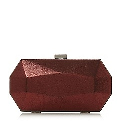 Roland Cartier - Bonley' glitter box clutch bag