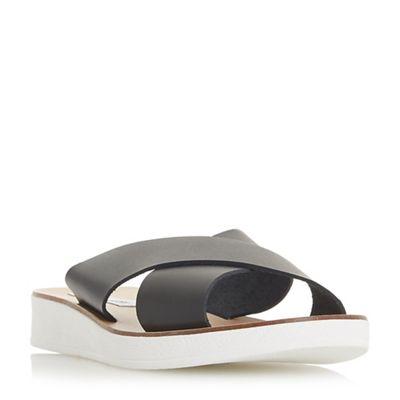Steve Madden - Black 'Trent' mule sandals