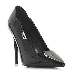 Dune - Black 'Ashe' high stiletto heel court shoes
