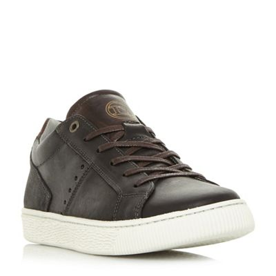 Dune - Black 'Tooting' smart cupsole trainers