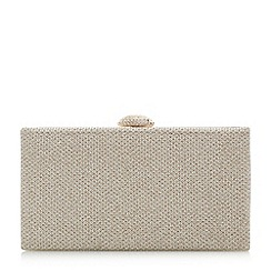 Roland Cartier - Briana' oval diamante clasp clutch bag