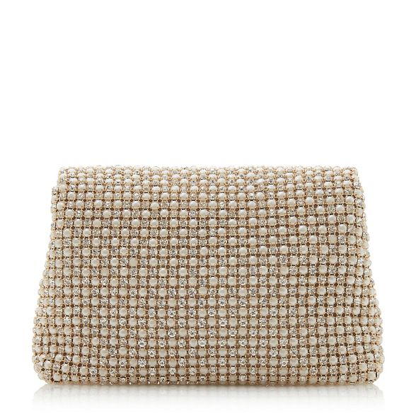 Ivory Dune 'Everlina' bag embellished clutch diamante d77qvw