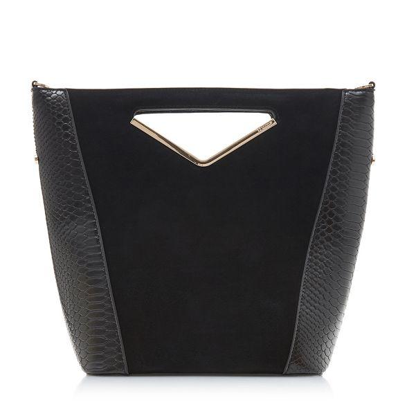 handle 'Diangle' bag v small Black Dune TAgPqIA