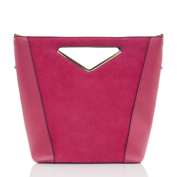 Pink 'Diangle' handle Dune bag v small zYSPPwdOq