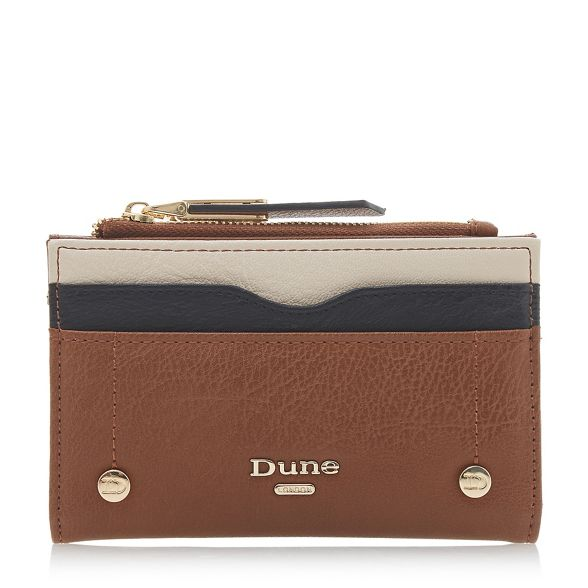 Dune Dune Brown 'Keanne' colourblock Brown 'Keanne' purse colourblock 4qgwTxHR6