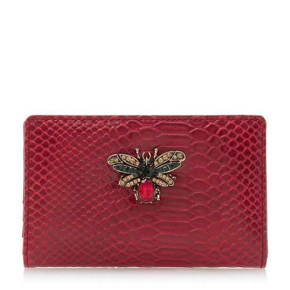 Red snakeskin bug purse detail 'Kbug' Dune Twq6aPdxOq