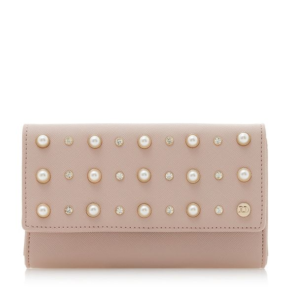 pearl pink purse Dune 'Kuigley' Light studded xIgTXH