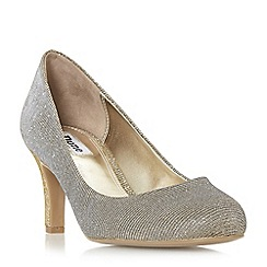 Dune - Bronze 'Amalei' mid stiletto heel court shoes