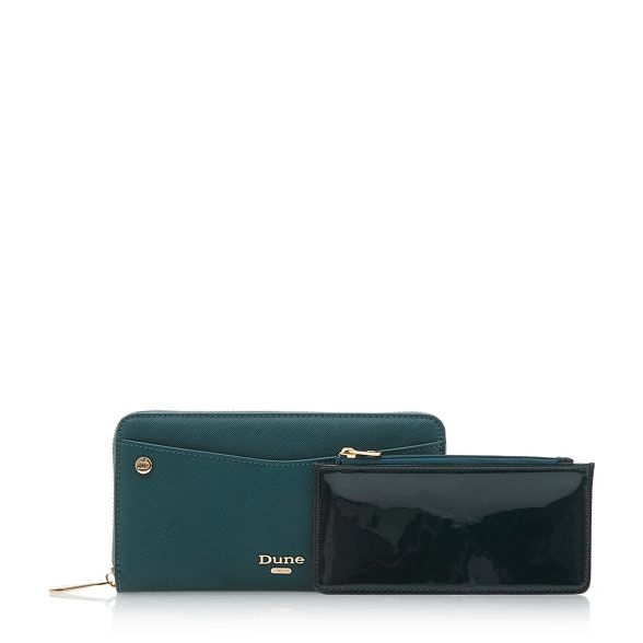 Dune 'Kbecci' Green pouch removable purse xwPSqXw