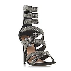 Steve Madden - Black 'Malika Steve Madden' high stiletto heel ankle strap sandals