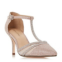 Roland Cartier - Rose 'Dennice' mid stiletto heel ankle strap sandals
