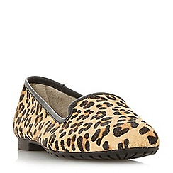 Dune - Multicoloured leather 'Genevene' loafers