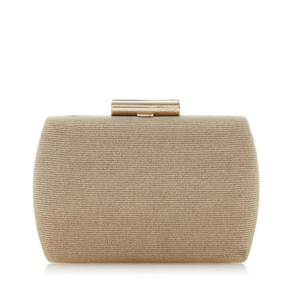 barrel hard bag Dune 'Brights' Gold clutch case qIpwxTPwE