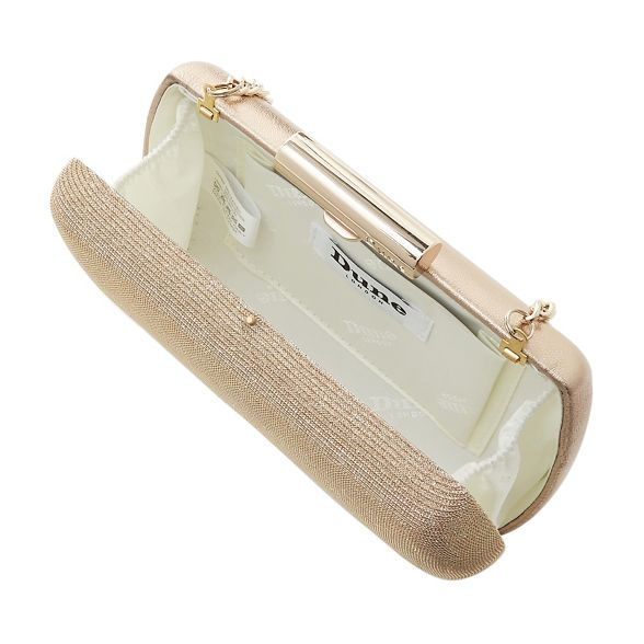 'Brights' case Gold bag clutch hard barrel Dune 6B0nZqA