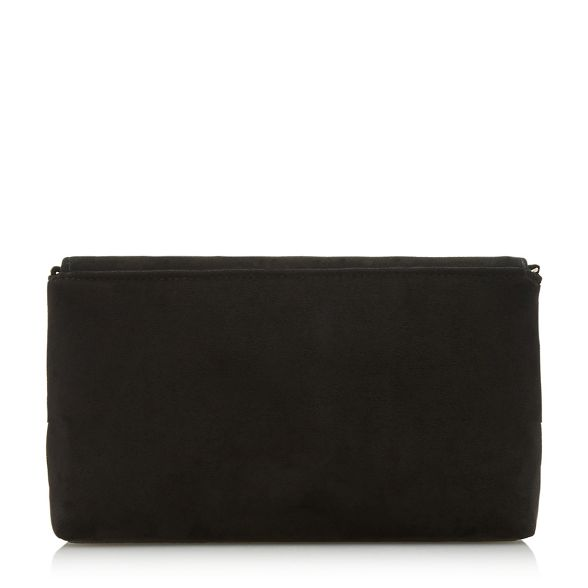 'Bellairs' Black clutch print Dune Black Dune w1qttF
