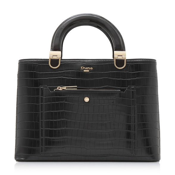 box Dune 'Denicee' handle top Black handbag nAIAq1xvw