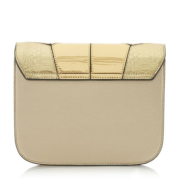 clutch Dune Gold bag 'Datchy' patchwork rrt0wq