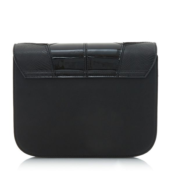 Black clutch Dune bag patchwork 'Datchy' zqx4ZB