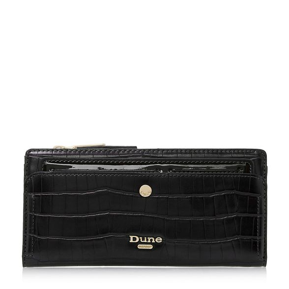 'Kenice' purse effect croc Black Dune vTYzq1x