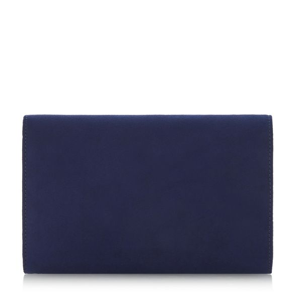 bag edge Betty' squared clutch Dune by Head Heels Over wAqTvR8