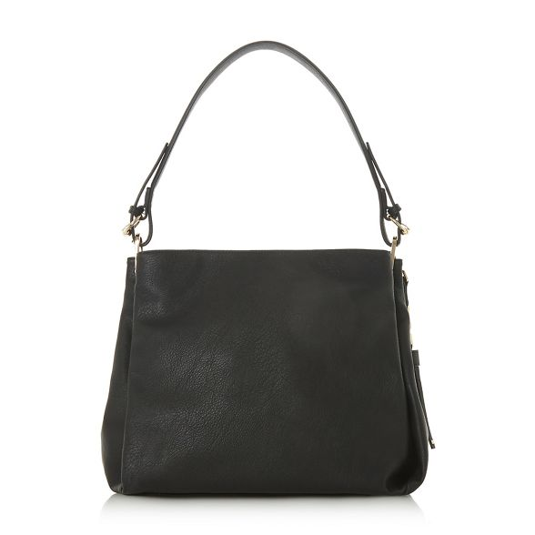 Black Dune tassel 'Danty' slouch bag detail x0q1ZwPdq